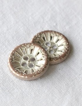Antik metall - fire hull 22 mm (DSA)