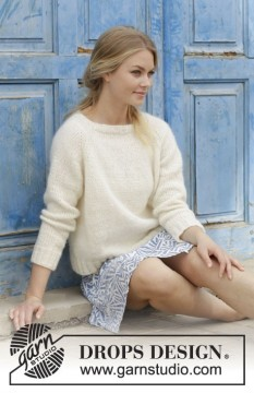 Carly Pullover by DROPS Design