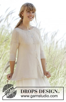 Dune Cardigan by DROPS Design