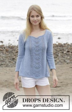 Key West Sweater by DROPS Design