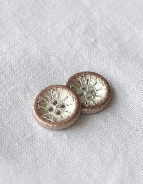 Antik metall - fire hull 15 mm (DSA)