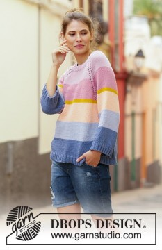 Sonora Sunrise Sweater by DROPS Design