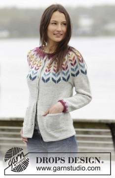 Joyride Cardigan by DROPS Design