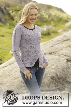 Erendis Cardigan by DROPS Design